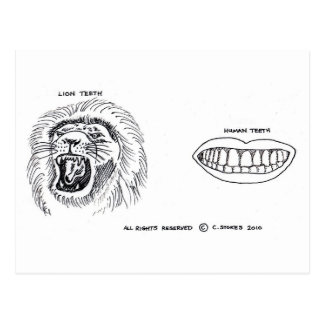 Teeth Postcard
