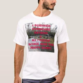 Tegeder Foundation after Katrina, I SURVIVEDHUR... T-Shirt