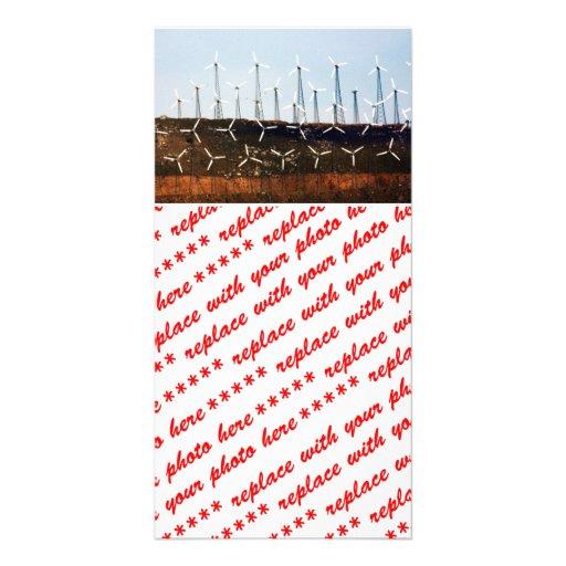Tehachapi Wind Farm Photo Card Template