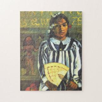 'Tehamana Has Many Ancestors' - Paul Gauguin Jigsaw Puzzle