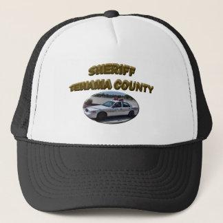 TEHAMASHERIFF TRUCKER HAT