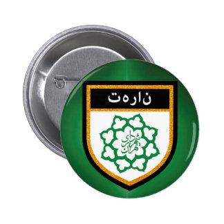Tehran Flag 2 Inch Round Button