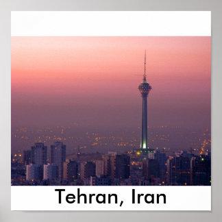 Tehran in Iran Poster