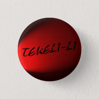 Tekeli left 1 inch round button