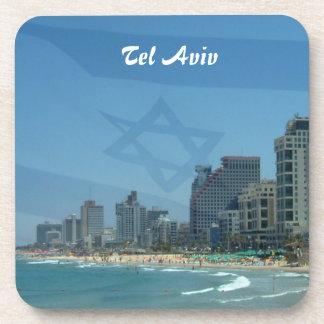 Tel Aviv Cork Coaster