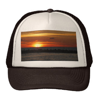 Tel Aviv Sunset Trucker Hat