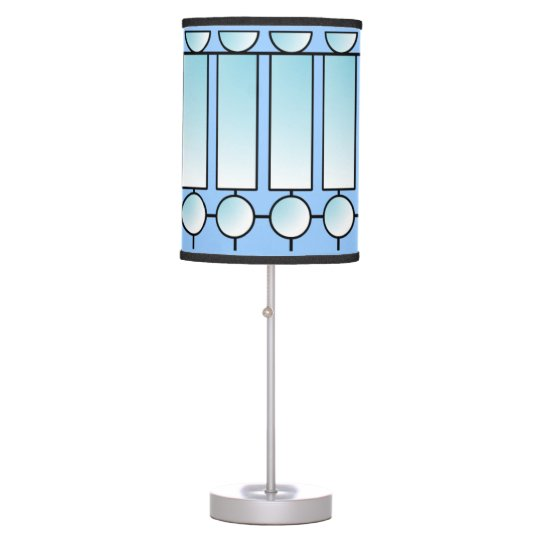 Teldron Ice Stained Glass Designer Table Lamp