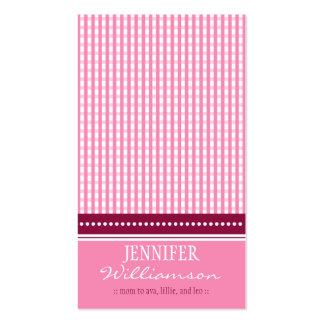 Télécartes de maman de guingan customisées par carte de visite standard