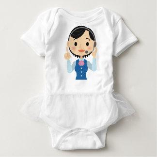 Telecom Worker Baby Bodysuit