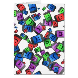 Telecommunication fun. card