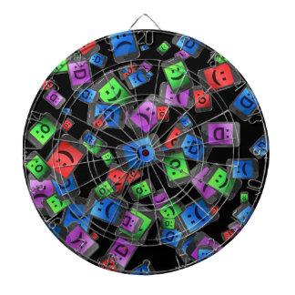 Telecommunication fun. dartboard