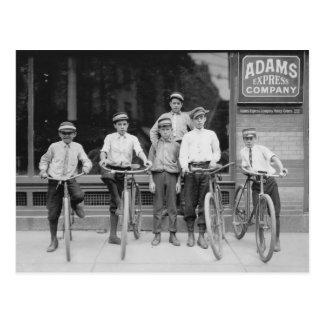 Telegram Messenger Boys, 1911 Postcard