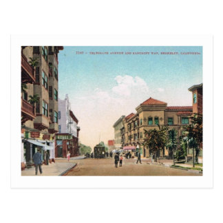 Telegraph Ave., Berkeley, California Vintage Postcard