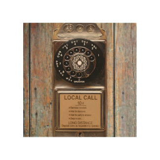 Telephone antique rotary pay phone steampunk booth wood prints