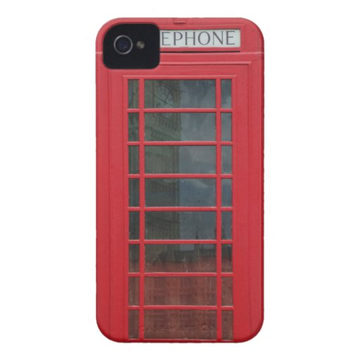 Telephone Booth Blackberry Bold Covers