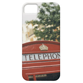 Telephone booth in London England iPhone 5 Case