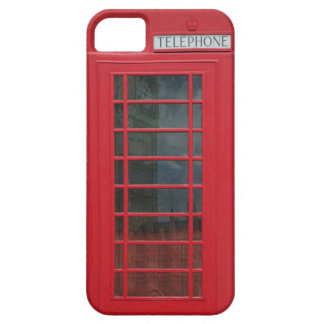 Telephone Booth iPhone 5 Cover