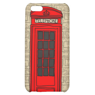 telephone booth iphone case cover for iPhone 5C