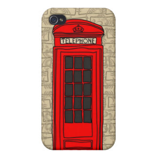 telephone booth iphone case iPhone 4/4S cover