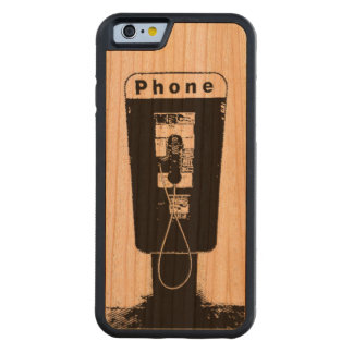 Telephone Booth Phone Case Cherry iPhone 6 Bumper Case