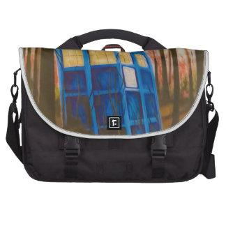 telephone box computer bag