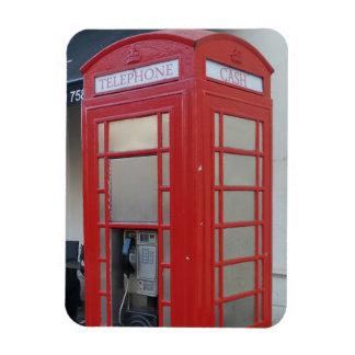 "Telephone Cabin 3""x4"" Magnet"