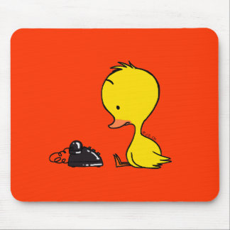 Telephone & Duck Mouse Pad