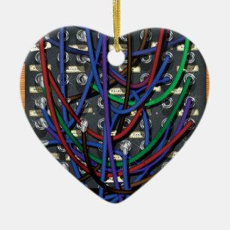 Telephone Exchange Ceramic Ornament
