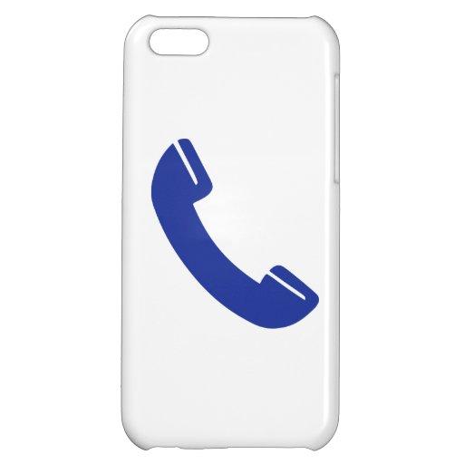 Telephone icon iPhone 5C case