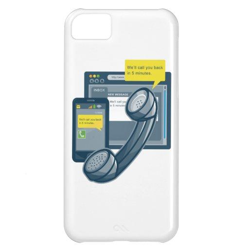 Telephone Smartphone Website Call Back iPhone 5C Cases