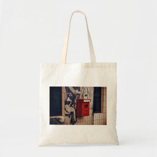 Telephone Themed, A Red Telephone Box For Public U Budget Tote Bag