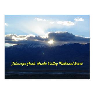 Telescope Peak in Death Valley Postcard