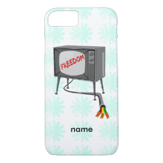 Television Freedom iPhone 7 Case