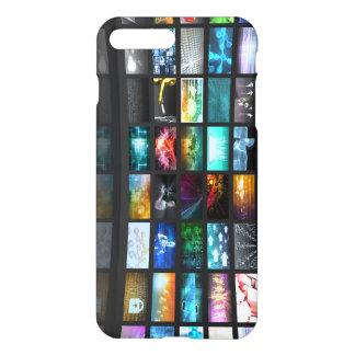 Television Production Technology Concept iPhone 7 Plus Case