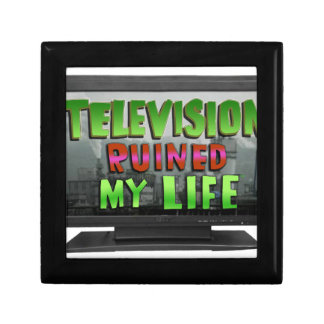 TELEVISION RUINED MY LIFE (YaWNMoWeR) Gift Box