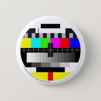 Television/Television/TV 2 Inch Round Button