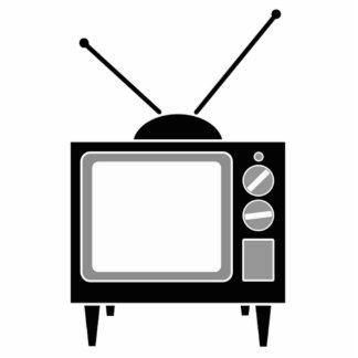 Télévision vintage photo sculpture