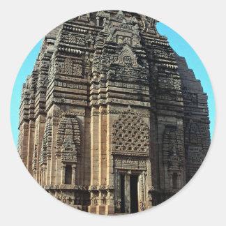 Telika Mandir, Madhya Pradesh, India Classic Round Sticker