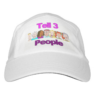 Tell 3 People Baseball Cap Laugh, Smile I Love You
