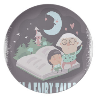 Tell A Fairy Tale Day - Appreciation Day Plates