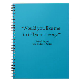 Tell a Story Quote Notebook
