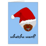 Tell Black Santa What You Want for Christmas