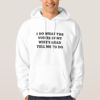 Tell Me To Do Hoodie