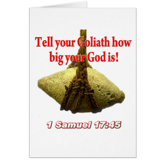 Tell Your Goliath... Card
