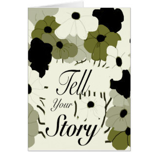 Tell Your Story Card