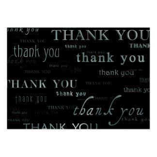tellement beaucoup remercient la carte yous de carte de visite grand format