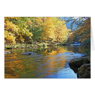 """Tellico in Autumn"" Card"