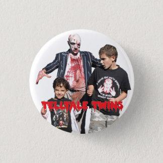 Telltale Twins Zombie Pin