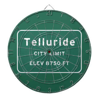 Telluride Colorado co Interstate Highway Freeway : Dartboard