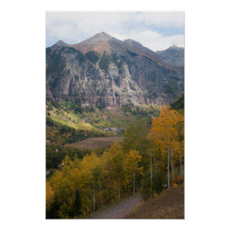 Telluride in Fall Poster